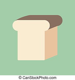 Bread loaf illustration
