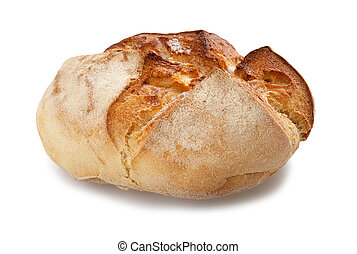 Bread - loaf isolated on a white background