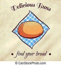 Bread On A Napkin 10