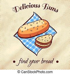 Bread On A Napkin 11