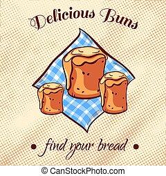 Bread On A Napkin 16