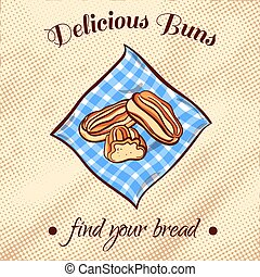 Bread On A Napkin 21
