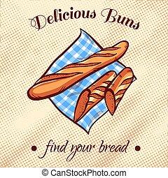 Bread On A Napkin 8