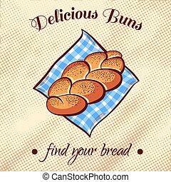 Bread On A Napkin 9