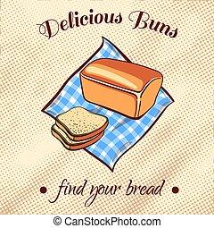 Bread On A Napkin