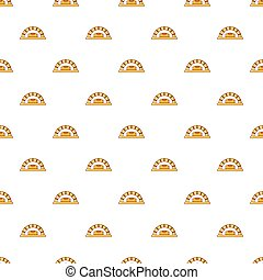 Bread oven pattern seamless
