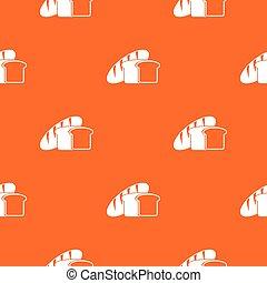 Bread pattern seamless