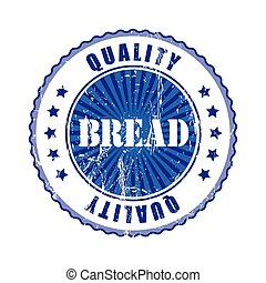 Bread Quality Stamp.