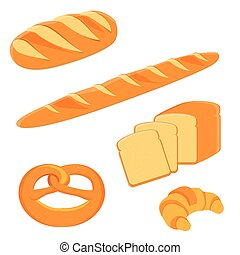 Bread set, collection