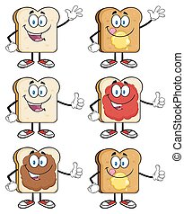 Bread Slice Collection Set 1