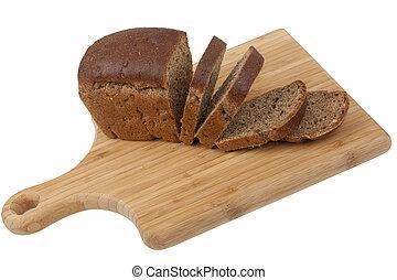 bread, su, cucina, asse