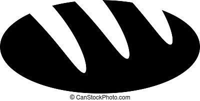 Bread vector icon