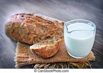bread with milk