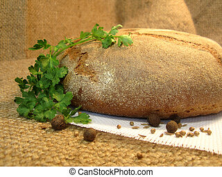 bread with parsley