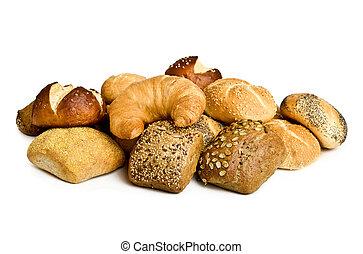 bread, y, rollos