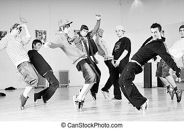 Break Dance Indoor B Boys