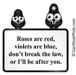 Break the Law UK Poem