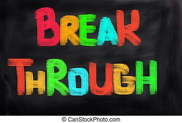 Break Through Concept