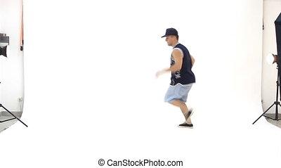 breakdance, nastolatek, taniec
