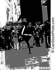 breakdancer, b&wbreakdancer, b&w