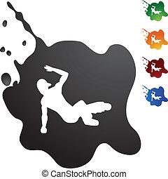 Breakdancer Icon