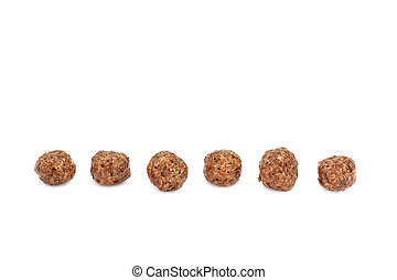 Breakfast Cereals isolated on white background