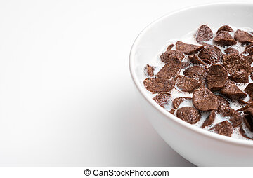 Chocolate Cornflakes Cereal Bowl