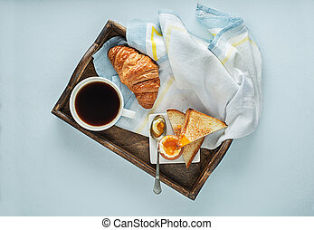 Breakfast continental - Continental Breakfast served with ...