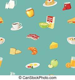 Breakfast Food Pattern