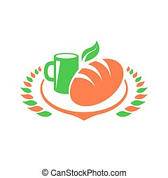 Breakfast Foods Clip Art set
