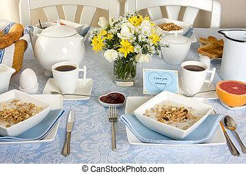 Breakfast for mommy