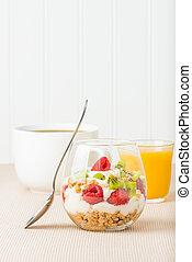 Breakfast Fruit Parfait