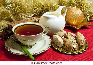 Breakfast on Christmas morning