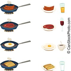Breakfast Pan Set