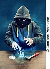 Breaking mobile phone encryption