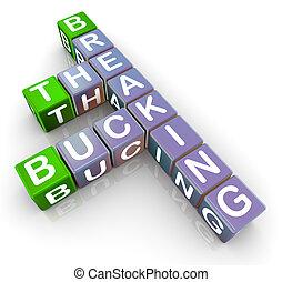 Breaking the buck