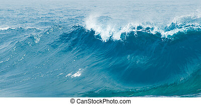 breaking waves - powerful ocean waves breaking natural...