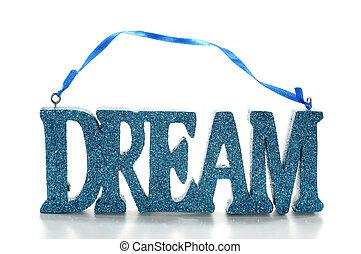 Bream - Dream Chirstmas Decoration - Blue Glitter