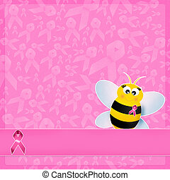 Breast Cancer Association - illustration of Breast Cancer...