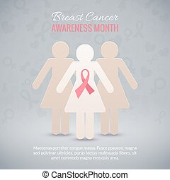Breast Cancer Awareness Background
