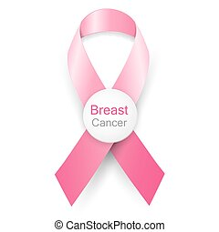 Breast cancer awareness month pink ribbon