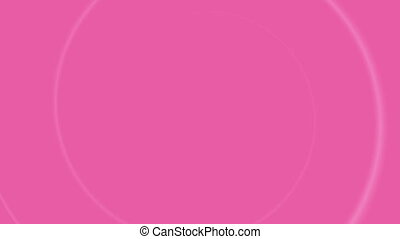 Breast Cancer Awareness month 4k animation, pink ribbon drawing for health support. 2d concept footage of presentation, campaign template.