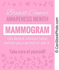 Breast Cancer Awareness Poster - Breast Cancer October...