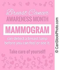 Breast Cancer Awareness Poster - Breast Cancer October...