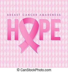 breast cancer graphic design , vector illustration