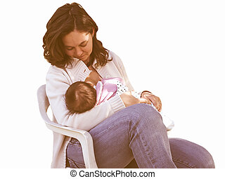 Breastfeeding vintage