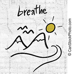 breathe message