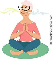 Breathing exercises for seniors