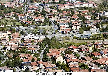 Breathtaking view around from Republic of San Marino hills