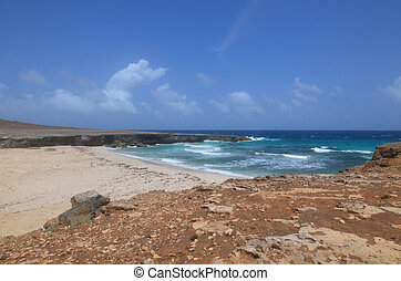 Breathtaking View of Daimari Beach in Aruba